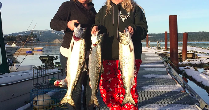 Campbell River Salmon Fishing #3