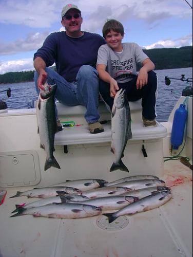 vancouver island ocean fishing